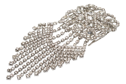 Allure Dangle Rhinestone Side Comb