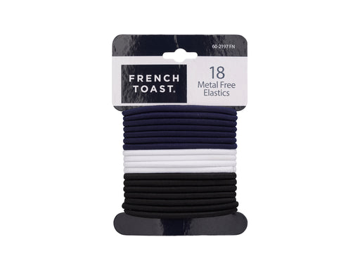 French Toast Metal Free Elastic, 18 Pack