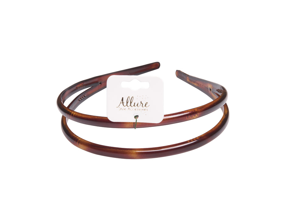 Allure Double Row Headband
