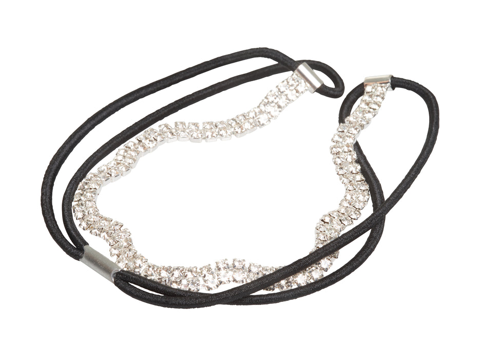Allure Rhinestone Stretch Headband 2 Pack