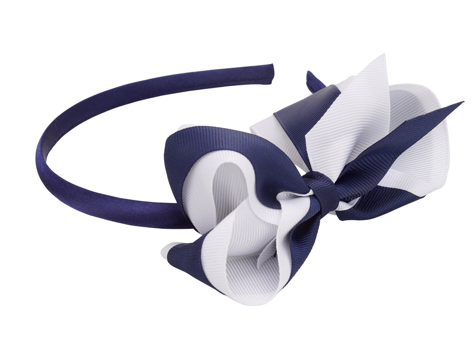 French Toast Bow Headband