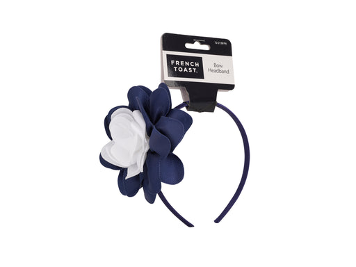 French Toast Headband with Grosgrain Flower