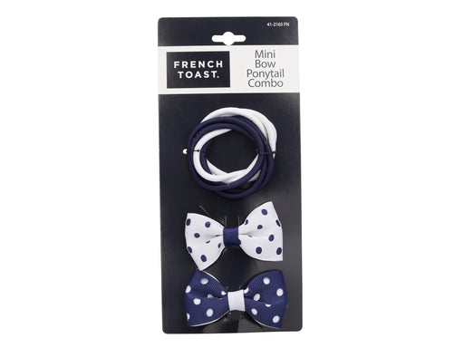 French Toast Mini Bows and Ponytail Holders