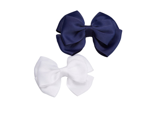 French Toast Barrette Bows, 2 Pack