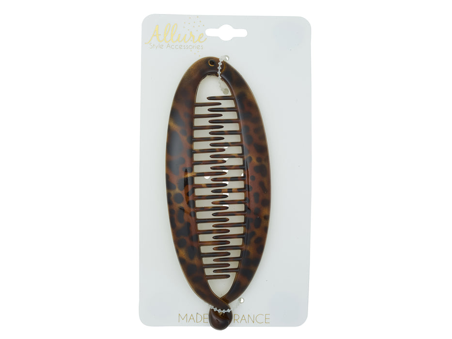 Allure Animal Print Twist Clip