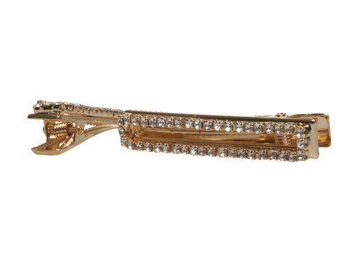 Allure Gold & Rhinestone Salon Clips