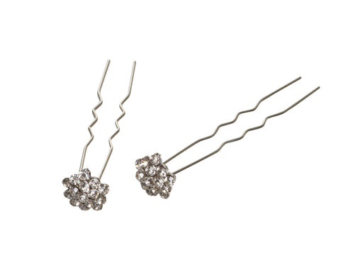 Allure Rhinestone Chignon Hair Pins