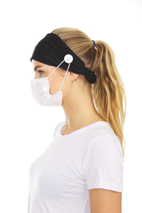 Allure Mask Holder Scarf Style Headband