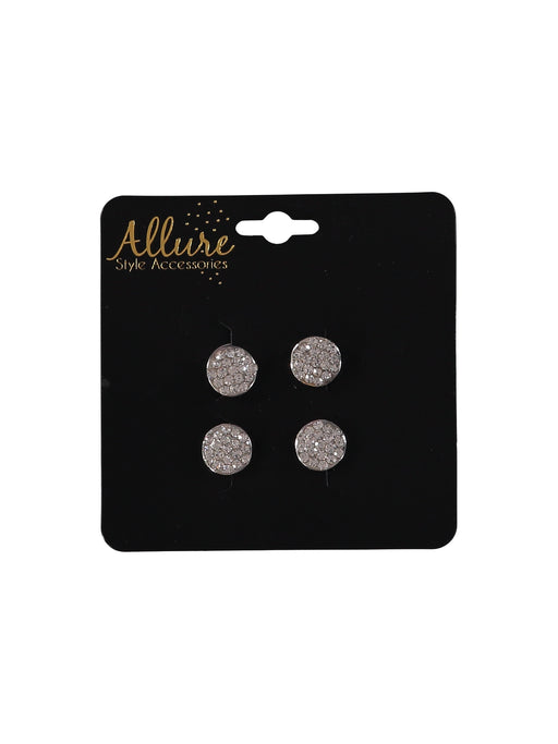 Allure Rhinestone Hair Screws