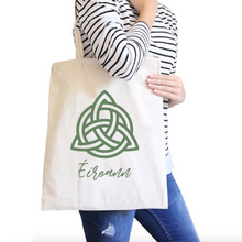 Éireann All-Purpose Heavy Cotton Natural Canvas Tote Bag