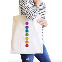 Chakra All-Purpose Cotton Natural Canvas Tote Bag