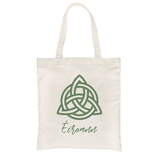 Éireann All-Purpose Cotton Natural Canvas Tote Bag