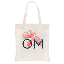 OM All-Purpose Cotton Natural Canvas Tote Bag