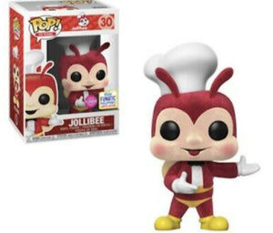 Funko Pop Jollibee Flocked Funatics Excluisve Mint