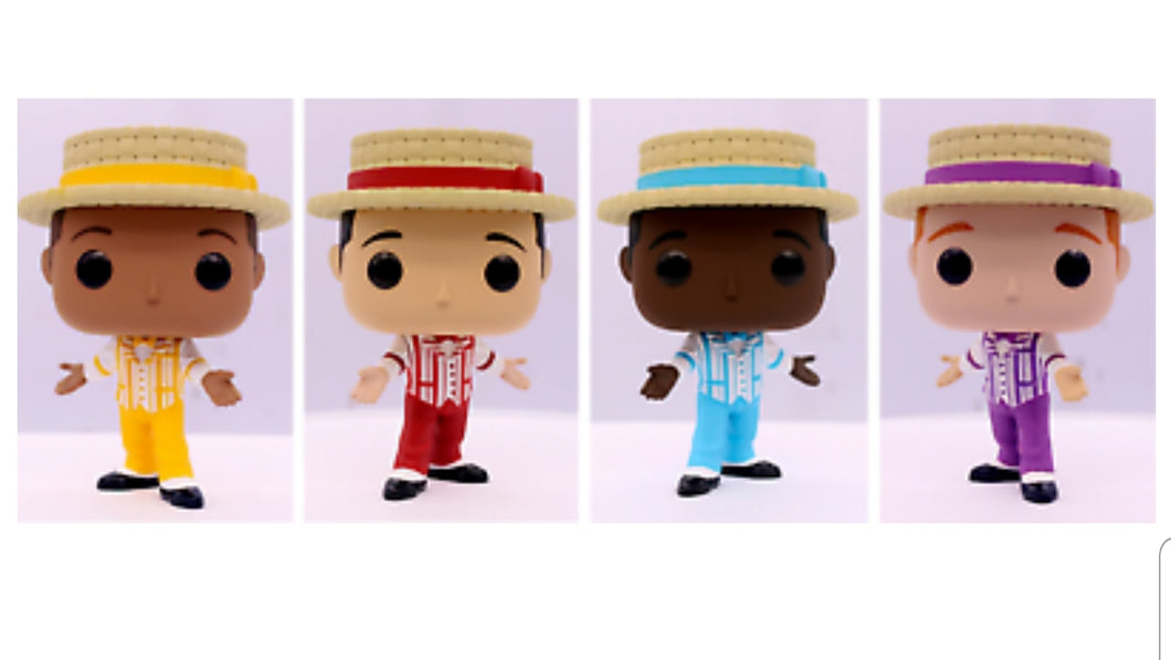 2019 Disney D23 Expo Funko Pop Disneyland Dapper Dans 4 Pack - IN HAND