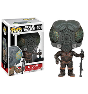 "Funko Pop Star Wars ""4-LOM"" #101 Mint"