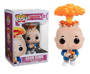 "Funko Pop Garbage Pail Kids ""Adam Bomb"" #01 Mint"