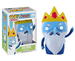 "Funko Pop Adventure Time ""Ice King"" #34 Vaulted Mint"