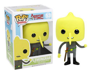 "Funko Pop Adventure Time ""Lemongrab"" #53 Vaulted Mint"