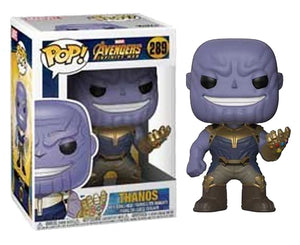 "Funko Pop Marvel Avengers Infinity War ""Thanos"" #289 Mint"