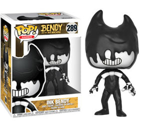 "Funko Pop Bendy and the Ink Machine ""Ink Bendy"" #289 Mint"