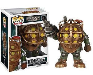 "Funko Pop Bioshock ""Big Daddy"" 6"" #65 Mint Condition"