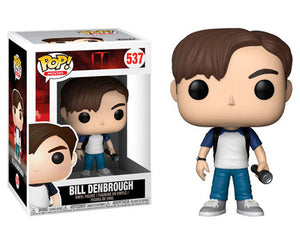 "Funko Pop IT ""Bill Denbrough"" #537 Mint"