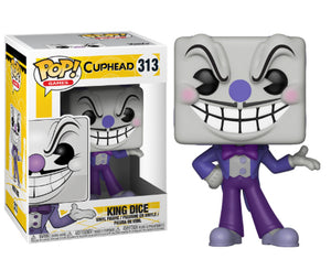 "Funko Pop Cuphead ""King Dice"" #313 Mint"