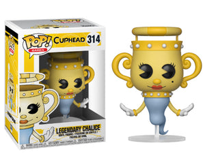 "Funko Pop Cuphead ""Legendary Chalice"" #314 Mint"