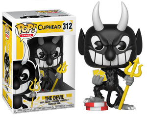 "Funko Pop Cuphead ""The Devil"" #312 Mint"