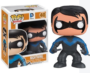 "Funko Pop DC Super Heroes ""Nightwing"" #40 Vaulted Mint"