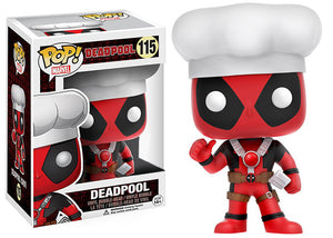 "Funko Pop ""Deadpool Chef"" #115 Exclusive Mint"