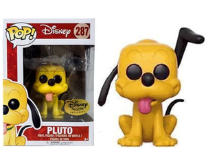 "Funko Pop ""Pluto"" #287 Disney Treasure Exclusive  Mint"