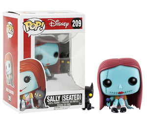 "Funko Pop Disney ""Sally"" (Seated) #209 Exclusive Mint"
