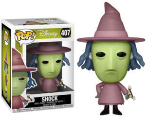 "Funko Pop Disney ""Shock"" #407 Mint"