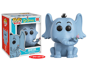 "Funko Pop Dr. Seuss ""Horton"" 6"" #08 Mint"