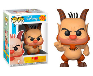 "Funko Pop Disney ""Phil"" #380 Mint"