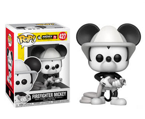"Funko Pop Mickey Mouse 90th Anniversary ""FireFighter Mickey"" #427 Mint"