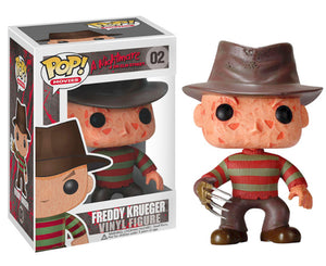 "Funko Pop Nightmare on Elm Street ""Freddy Kreuger"" #02 Mint"