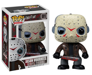 "Funko Pop Friday the 13th ""Jason Voorhees"" #01 Mint"