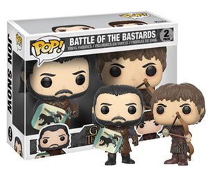 "Funko Pop Game of Thrones ""Battle of the Bastards"" 2-Pack Mint"