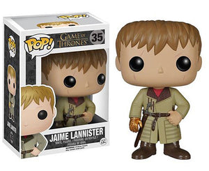 "Funko Pop Game of Thrones ""Jaime Lannister"" Gold Hand #35 Vaulted Mint"