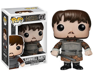 "Funko Pop Game of Thrones ""Samwell Tarly"" #27 Vaulted Mint"