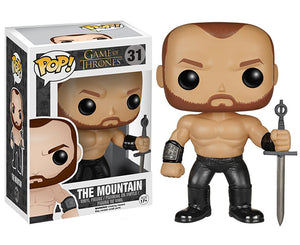 "Funko Pop Game of Thrones ""The Mountain"" #31 Vaulted Mint"