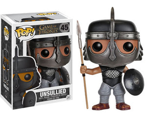 "Funko Pop Game of Thrones ""Unsullied"" #45 Vaulted Mint"