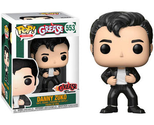 "Funko Pop Grease ""Danny Zuko"" #553 Mint"