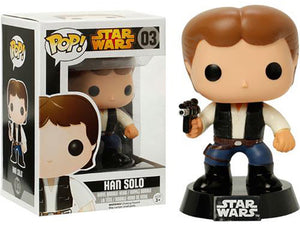 "Funko Pop Star Wars ""Han Solo"" #03 Mint"