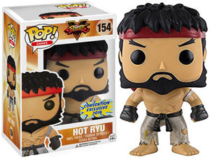 "Funko Pop Street Fighter ""Hot Ryu"" #91 Convention Exclusive Mint"