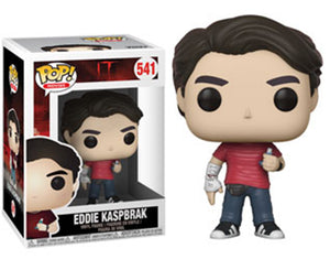 "Funko Pop IT ""Eddie Kaspbrak"" #541 Mint"