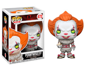 "Funko Pop IT ""Pennywise with Boat"" #472 Mint"